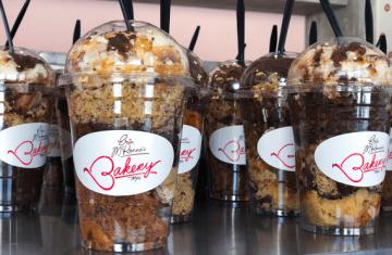 Vegan cupcake desserts from Erin McKenna's Bakery, Disney Springs.