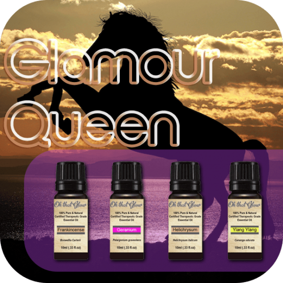 Glamour Queen essential oils kit.