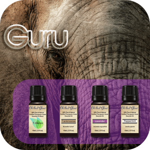 Guru essential oils kit.