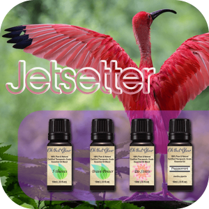 Jetsetter essential oils kit.