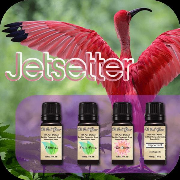 Jetsetter essential oils kit.