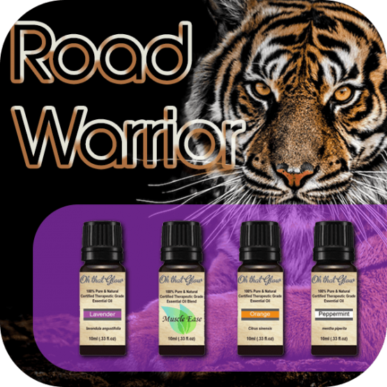 Road Warrior essential oils kit.
