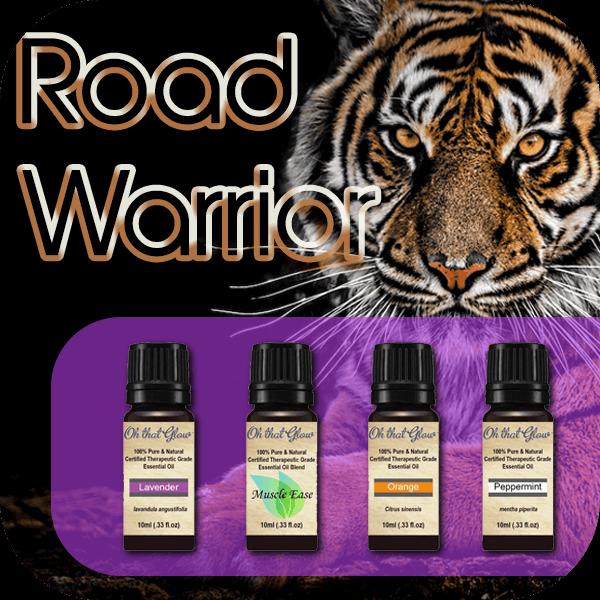 Road Warrior essential oils kit.
